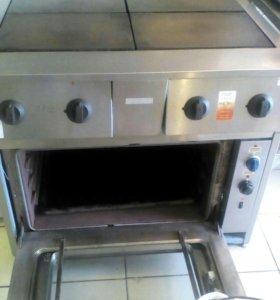 Электрическая профиссиональная плита