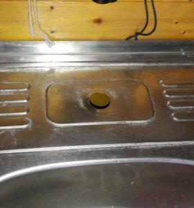 Раковина нержавейка, Мойка кухонная со смесителем