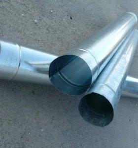 Новые трубы водосточные