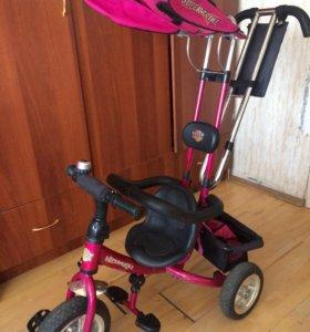 Детский трехколёсный велосипед super trike