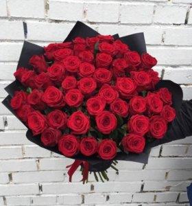 51 Роза. Доставка Цветов