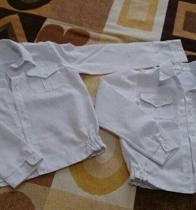 Рубашки школьные для кадетов