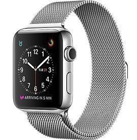 Apple Watch Нержавейка с миланским браслетом