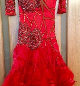 Платье для латино- американской программы