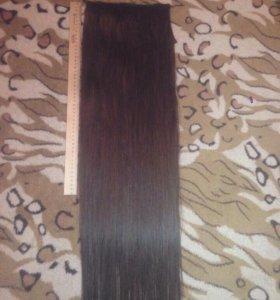 Шиньон, волосы