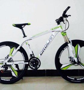 Велосипеды Crolan на дисках