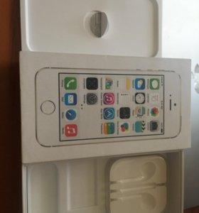 Коробка от айфон 5s gold