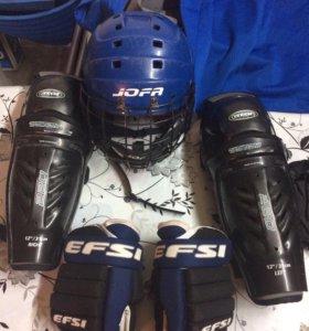 Форма хоккейная на мальчика 6-8 лет