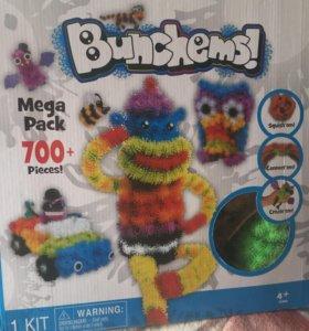 Конструктор bunches Банчемс 700 деталей новый