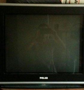 Телевизор рабочий с пультом
