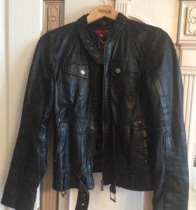 Стильная кожаная куртка Esprit