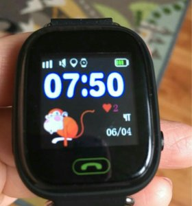 ЧАСЫ Smart Baby Watch Q90 (black)