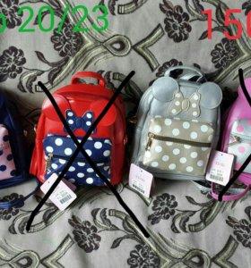 Новые рюкзачки для девочек