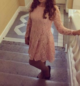 Розовое платье befree