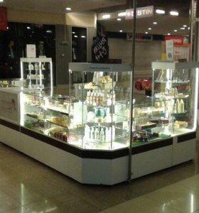 Магазин натуральной косметики по договору франшизы