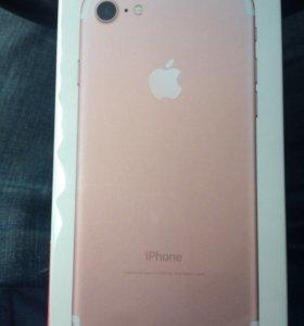 Apple iPhone 7-32gb, новый в плёнке,цвет ROSE GOLD