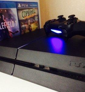 Sony PlayStation4 на 1tb +21 игра