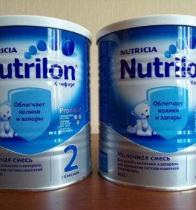 Молочная смесь Nutrilon Комфорт 2 (с 6 месяцев)