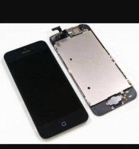 Дисплейный модуль на iPhone 5s