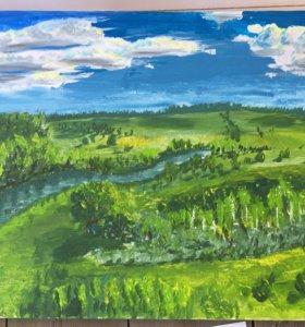 Обучение живописи и рисунку и картины на заказ
