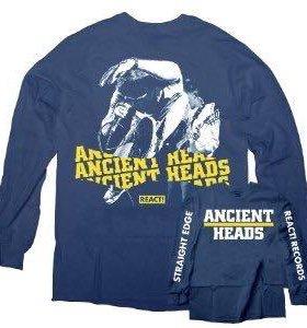 Лонгслив ancient heads,m-l