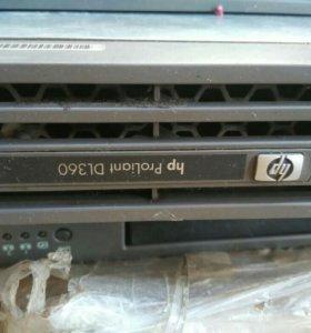 Сервер Hewlett Packard ProLiant DL360
