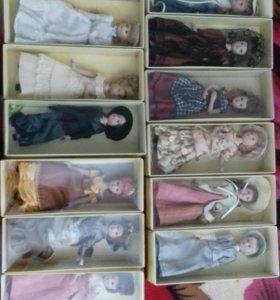 Продаю фарфоровые куклы