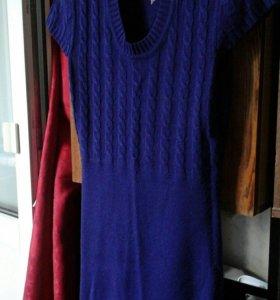 Платье фиолетового цвета, 42-44 250р