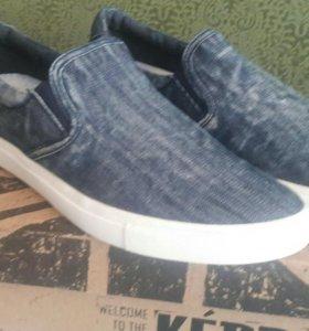 Слипоны-кеды KEDDO джинсовые 41р