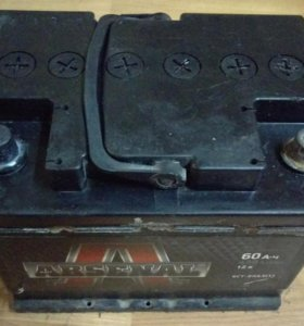 Аккумулятор АКБ 60А-ч 12в