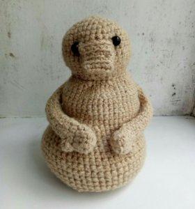 Вязанная игрушка Ждун