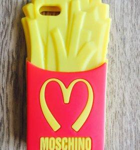 MOSCHINO original чехол для айфона