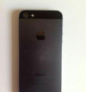 Iphone 5 16 gb на запчасти или ремонт