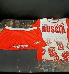 Костюм ( шорты и футболка)