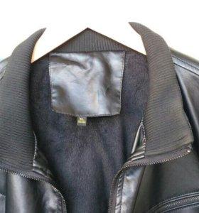 Куртка из кожзама 52