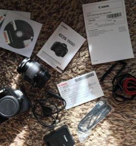 Фотоаппарат Canon EOS 1100D + EF-S 18-55 III (kit)