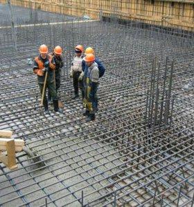 Монолитные плиты перекрытия, лестницы,фундамент