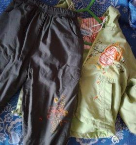Весенний(осенний) костюм (86-92рр)