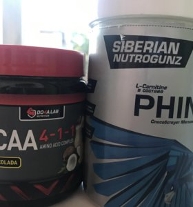 BCAA (amino acid complex) + L-carnitin