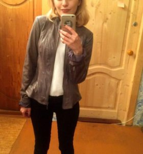 Новая замшевая курточка
