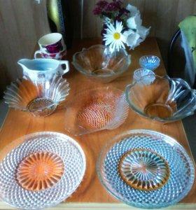 Набор стекляной посуды