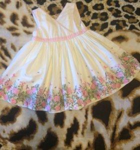 Платье Mothercare(6-9мес; 74 размер)