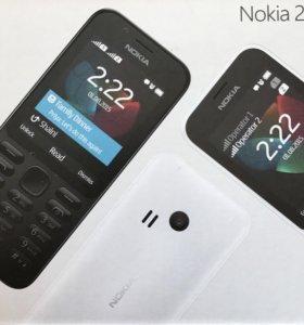 Кнопочный телефон Nokia 222