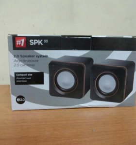 Акустическая 2.0 система Defender SPK 33