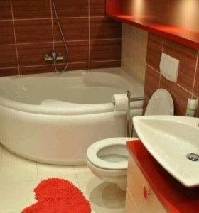 Ремонт ванной комнаты и сан узлов