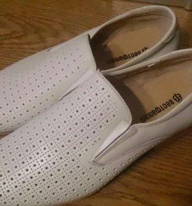 Продам кожаные туфли Westfalika