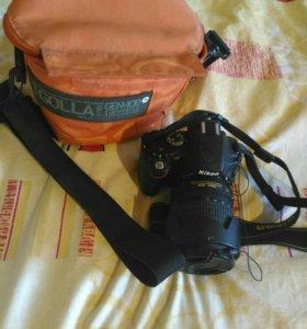 Продается зеркальный фотоаппарат Nikon D5100.