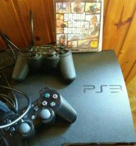 Playstation 3 с топовыми играми.
