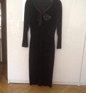 Платье под бархат BGN