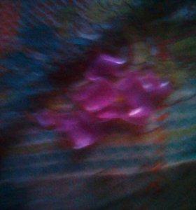 Фиолетовые накладные ногти